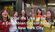 What It's Like Being a Colombian Soccer Fanatic in New York