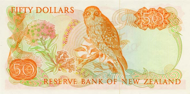 Third series of banknotes: 1983 $50 note