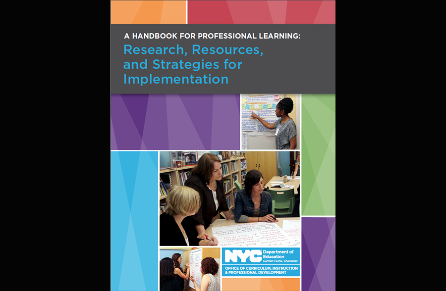 Handbook for Professional Learning