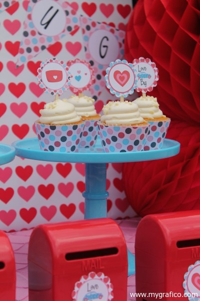 Valentine party ideas - via mygrafico.com