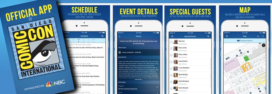 OFFICIAL Comic-Con International App
