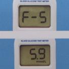 显示定标值F-5