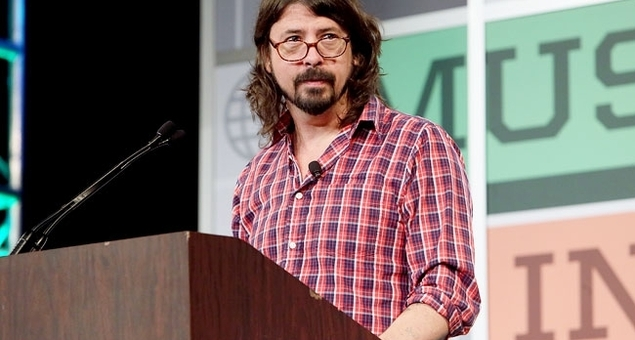 Image for Dave Grohl loves 'Gangnam Style' and other things we learned from his SXSW keynote