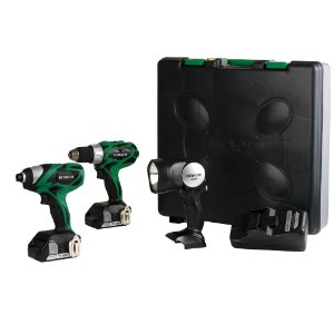 Hitachi KC18DHL 18-Volt Lithium-Ion 3-Ithuluzi Combo Kit