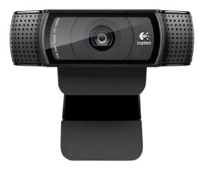Logitech HD Pro Webcam C920, 1080p Widescreen Video Calling dan Recording