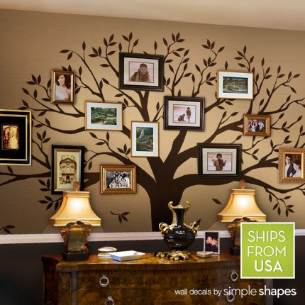 Family Tree Muursticker