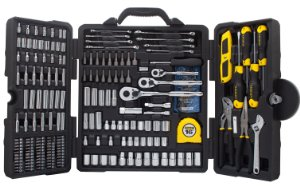 STANLEY STMT73795 Mixed Tool Set, 210-gabals