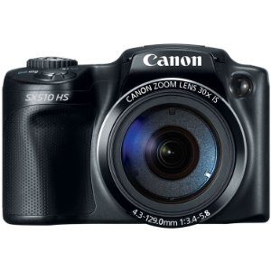 Canon Power SX510 HS 12.1 MP CMOS-Digitalkamera