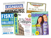 Higher Education magazine covers