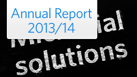 Read our annual report 2013/14