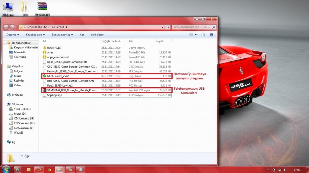 Multiloader 1 1024x575 Samsung Bada 2.0ın İkinci RC Sürümü Yayında! Bada 2.0 Yükleme Rehberi ve Sorularınız