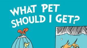 Dr. Seuss has A new book and surprise: it's Great