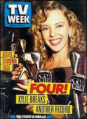 Kylie Minogue Wins Logie