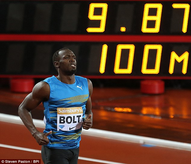 Bolt will come up against Gatlin in Beijing next month with the American in fine form at the moment