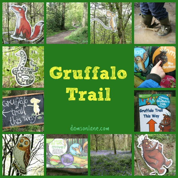 Forestry Commission Gruffalo Trail Wendover Woods