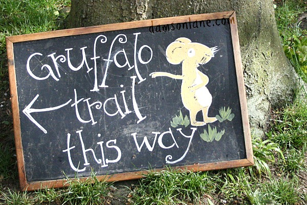 Forestry Commission Gruffalo Trail at Wendover Woods