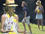 29.JULY.2015 - SARDINIA - ITALY\n*AVAILABLE FOR UK SALE ONLY*\nMODEL HEIDI KLUM AND HER BOYFRIEND VITO SCHNABEL HAVING FUN PLAYING GOLF IN SARDINIA.\nBYLINE MUST READ : CIAO PIX/XPOSUREPHOTOS.COM\n***UK CLIENTS - PICTURES CONTAINING CHILDREN PLEASE PIXELATE FACE PRIOR TO PUBLICATION ***\n*UK CLIENTS MUST CALL PRIOR TO TV OR ONLINE USAGE PLEASE TELEPHONE 0208 344 2007**
