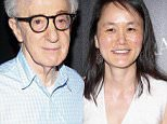 """NEW YORK, NY - JULY 15:  Woody Allen (L) and Soon-Yi Previn attend Sony Pictures Classics """"Irrational Man"""" premiere hosted by Fiji Water, Metropolitan Capital Bank and The Cinema Society on July 15, 2015 in New York City.  (Photo by Rob Kim/FilmMagic)"""