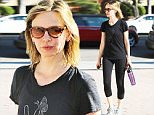 Picture Shows: Calista Flockhart  July 28, 2015\n \n 'Brothers & Sisters' star Calista Flockhart stays in shape with a trip to the gym in Santa Monica, California. \n \n Calista will soon be seen again on the small screen in the highly-anticipated CBS show 'Supergirl.'\n \n Exclusive - All Round\n UK RIGHTS ONLY\n \n Pictures by : FameFlynet UK © 2015\n Tel : +44 (0)20 3551 5049\n Email : info@fameflynet.uk.com