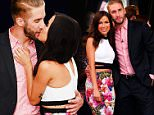 """NEW YORK, NY - JULY 29:  TV personalities Shawn Booth and Kaitlyn Bristowe attend the AOL BUILD Speaker Series presentation of: """"After the Final Rose"""" at AOL Studios in New York on July 29, 2015 in New York City.  (Photo by Michael Loccisano/Getty Images)"""