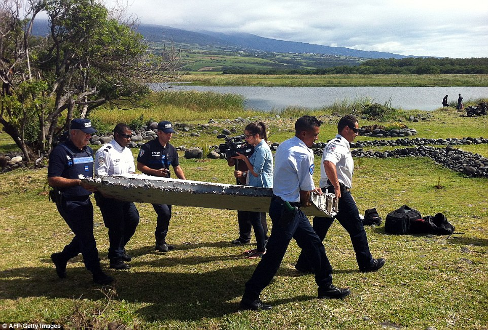 Air crash investigators confirmed that they have a 'high degree of certainty' that the component is from a Boeing 777 – similar to MH370
