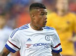 Chelsea's Kenedy during a Pre Season Friendly match between Barcelona and Chelsea at FedEx Field on 28th July 2015 in Washington, USA.