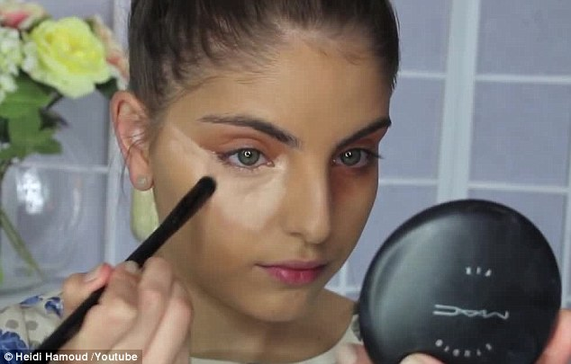 Wide awake: Applying concealer correctly under your eyes will prevent you from looking tired