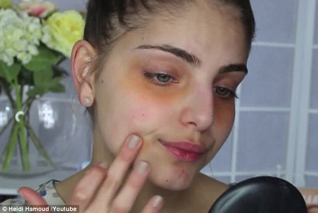 Correct colour: If you have dark blemishes under your eyes, orange concealer will work to cover it