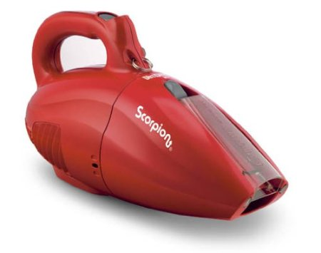 Dirt Devil SD20005RED Scorpion Quick Flip Hand Vaccuum