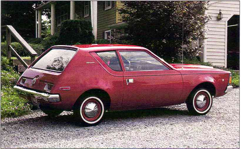 1970 AMC Gremlin Base Model 2 Seater