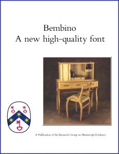 """""""Bembino"""" Booklet Cover"""