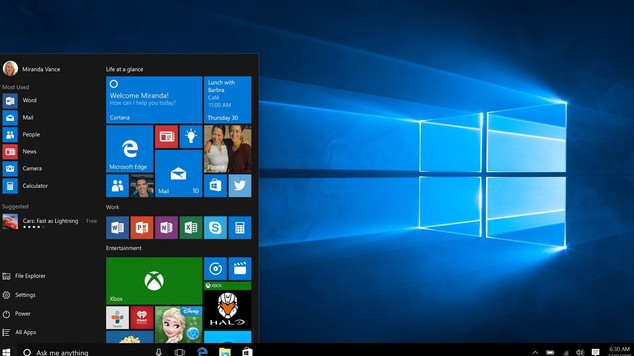 The new Windows 10 start menu: Following an outcry among users, Microsoft is bringing back the Start Menu, which was removed from Windows 8.