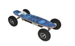 1500W Blue Skullator Electric Skateboard