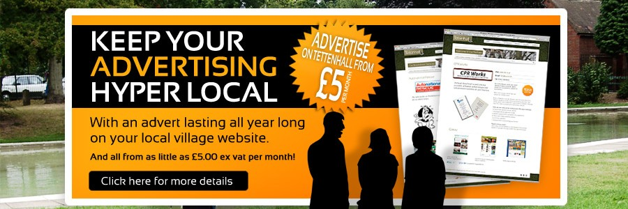 Keep Your Advertising Hyper Local all from as little as £5.00 ex vat per month!