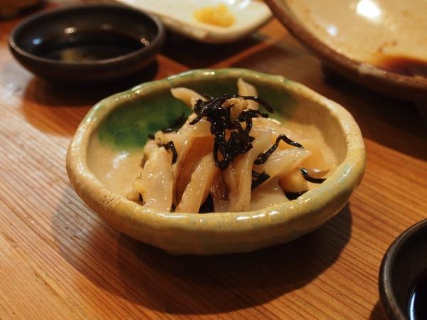 ミル貝の塩昆布