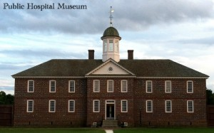 Public Hospital Museum Williamsburg Virginia