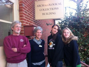 Tour of Archealogy Department to see Public Hospital Eastern State artifacts Virginia Colonial Williamsburg