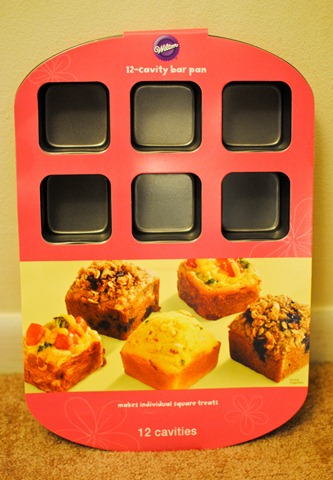 Wilton bar baking pan_