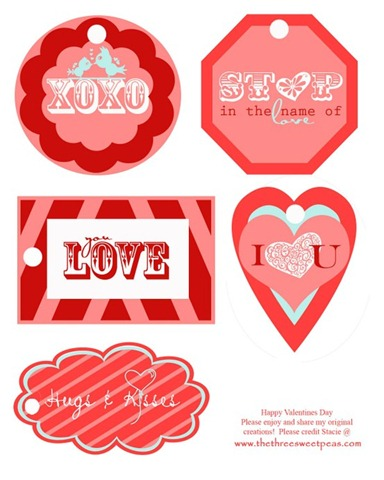 printable valentines day tags
