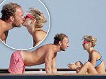 August 10th, 2015 - Saint Tropez\n****** Exclusive Picture ******\nRich Kids of Beverly Hills star Morgan Stewart and her fiance Brendan Fitzpatrick enjoying a passionate kiss on a luxury yacht in Saint Tropez.\nAfter a small shouting match, hilarious Brendan funny faces managed to make Morgan laugh and the happy couple becomes reconciled with a tender kiss.\n****** BYLINE MUST READ : © Spread Pictures ******\n******Please hide the children's faces prior to the publication******\n****** No Web Usage before agreement ******\n****** Stricly No Mobile Phone Application or Apps use without our Prior Agreement ******\nEnquiries at photo@spreadpictures.com