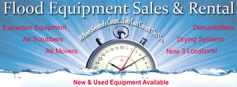 Water Damage Equipment Rental and Sales - SCI Supply 866-243-6555