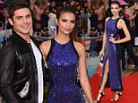 Emily Ratajkowski and Zac Efron\\nWe Are Your Friends premiere, Brixton, London. 11 August 2015\\nPic: DFS/ David Fisher/ Rex Shutterstock