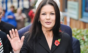 Catherine Zeta-Jones joins Dad's Army.