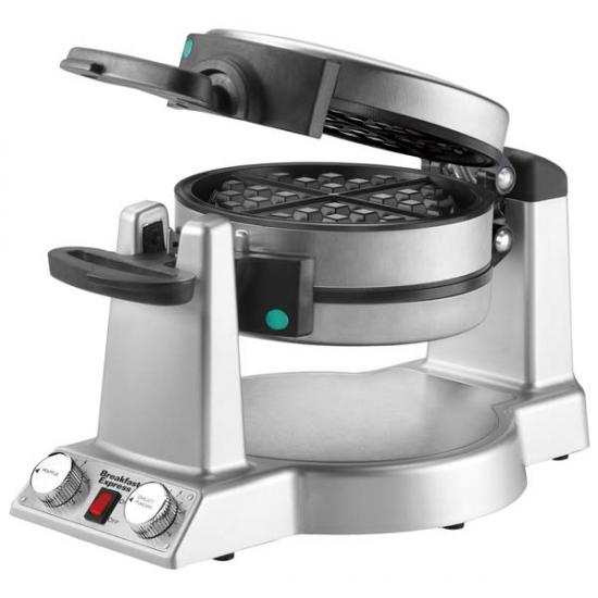 Waring WMR300 Belgian Waffle & Omelet Maker, Brushed Stainless Steel big 6