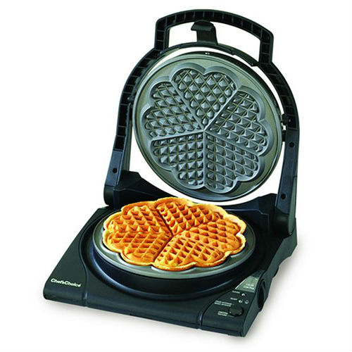 Chef's Choice M840 WafflePro Express Waffle Maker, Traditional Five of Hearts big4