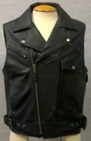 """Ladies Purple Leather Scooter Style Biker Jacket """"First Fashionista"""""""