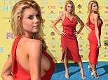 LOS ANGELES, CA - AUGUST 16:  Model Charlotte McKinney attends the Teen Choice Awards 2015 at the USC Galen Center on August 16, 2015 in Los Angeles, California.  (Photo by Jason Merritt/Getty Images)