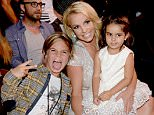 LOS ANGELES, CA - AUGUST 16:  Recording artist Britney Spears attends the Teen Choice Awards 2015 at the USC Galen Center on August 16, 2015 in Los Angeles, California.  (Photo by Kevin Mazur/Fox/WireImage)