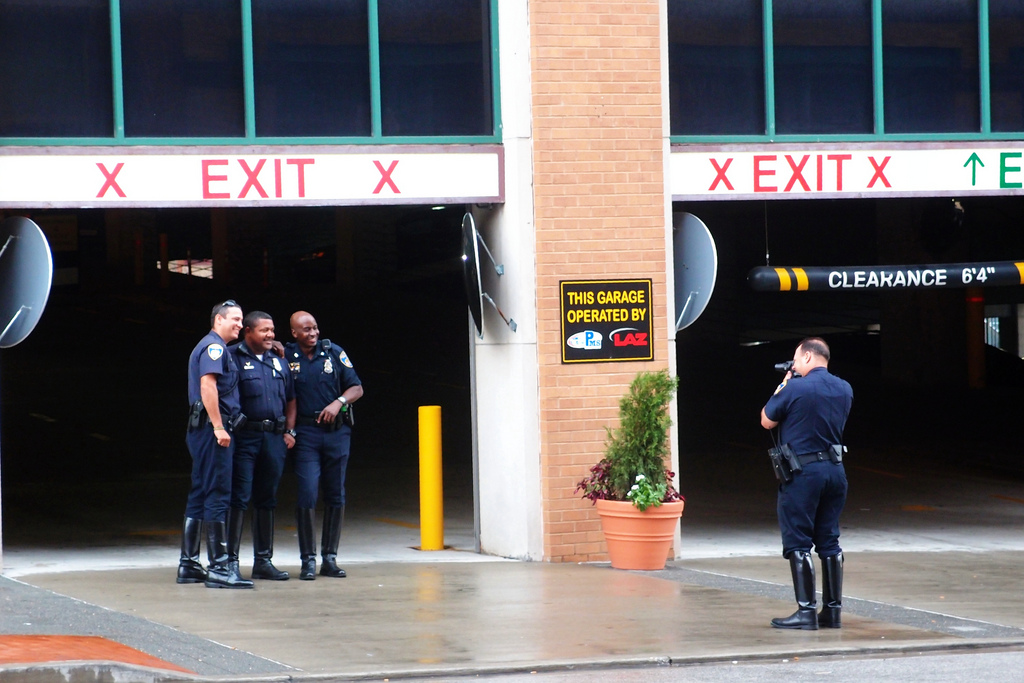 Cops with a DSLR