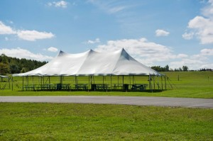 witte partytent